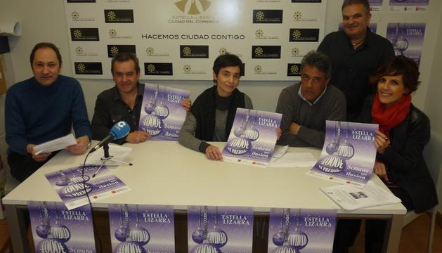 Ino Illanes, José Flamarique, Loreto San Martín, Carlos Garagarza, Elena Etxalar y Juan Andrés Echarri