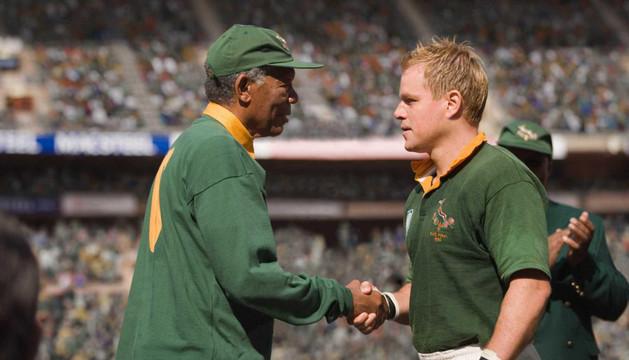 Morgan Freeman interpretó a Mandela en 'Invictus'