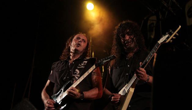 El grupo 'Mago de Öz' en un concierto en Pamplona