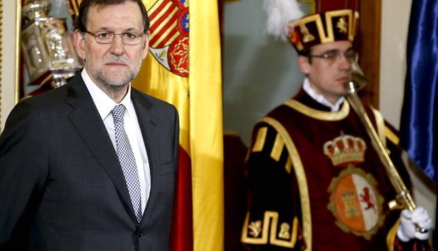 Rajoy ha tenido un encuentro con periodistas con motivo del aniversario de la Constitución