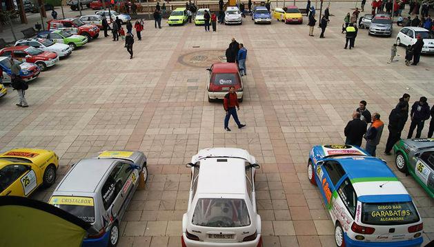 El rally automovilístico contó con los voluntarios de Milagro
