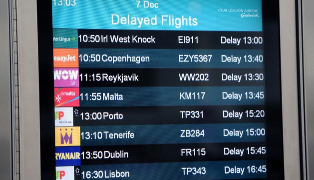 Varios vuelos retrasados por culpa de problemas técnicos este sábado