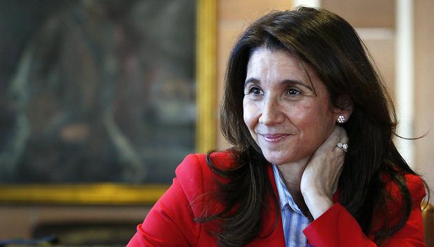 La presidenta de Loterías y Apuestas del Estado (LAE), Inmaculada García