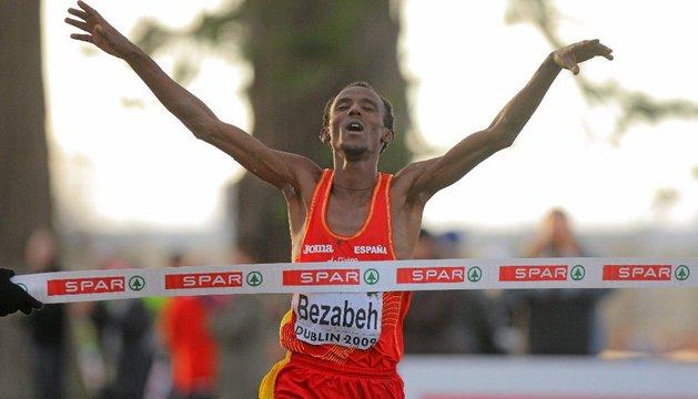 Bezabeh, en su victoria de 2009