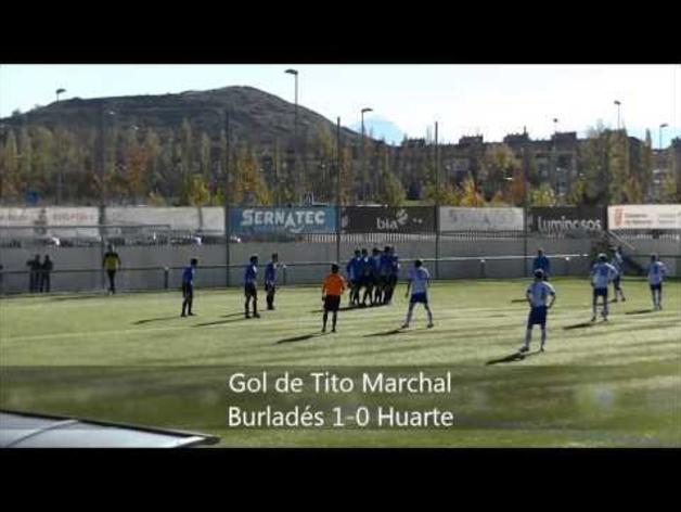 Los dos golazos de la jornada 16 de Sarri y Tito Marchal