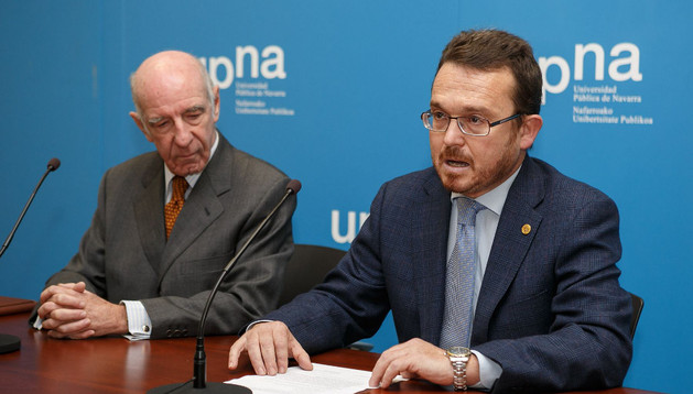 Joaquín Mencos, a la izquierda, y Alejandro Torres.