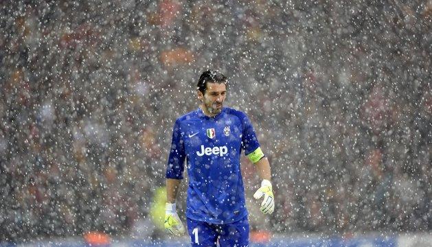 Buffon, en el Galatasaray-Juventus