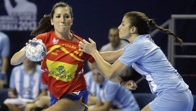 Lara González ataca a Argentina en el Mundial de Serbia