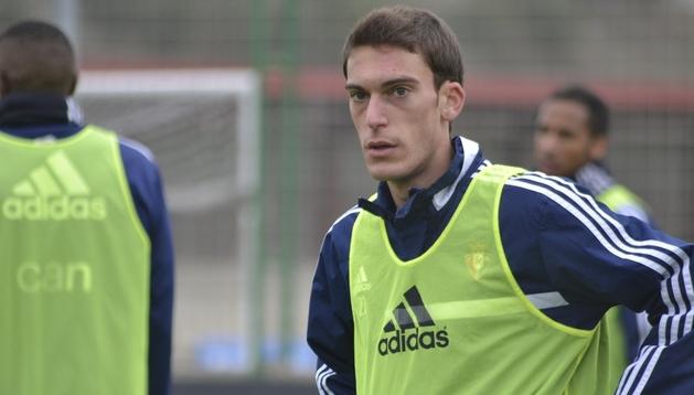 Roberto Torres, este martes en Tajonar.