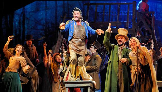 Imagen del musical 'Los Miserables'.