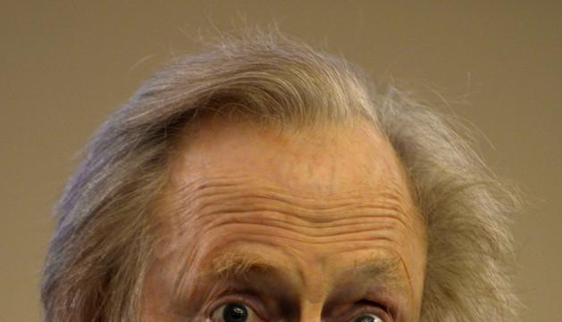 Tom Wolfe en la presentación de