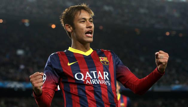 Neymar, este miércoles