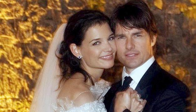 Katie Holmes y Tom Cruise se casaron por la Iglesia de la Cienciología