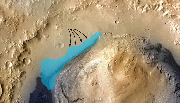 Recreación de la NASA.
