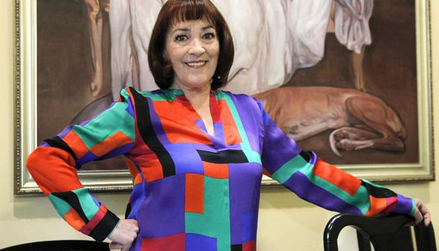 La actriz Carmen Maura este pasado miércoles