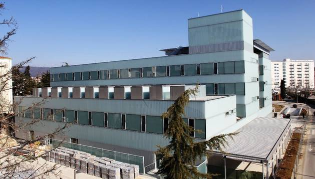 Exterior del nuevo edificio de Urgencias.