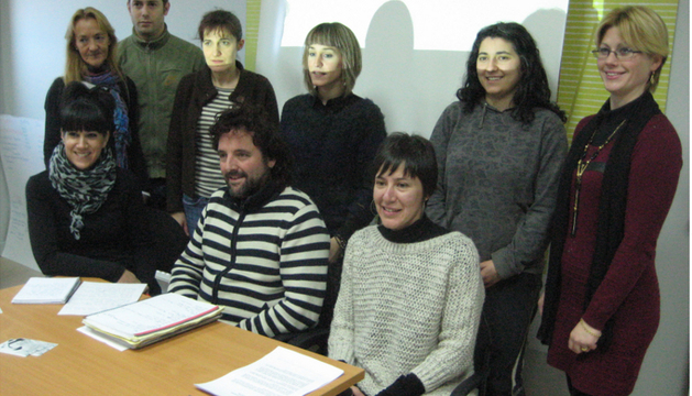Integrantes del equipo de trabajo 'Batuta', involucrado en el diseño de los proyectos