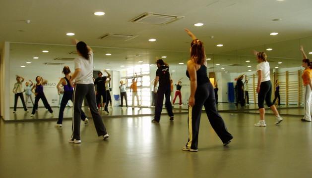 Un curso de fitness en Civican