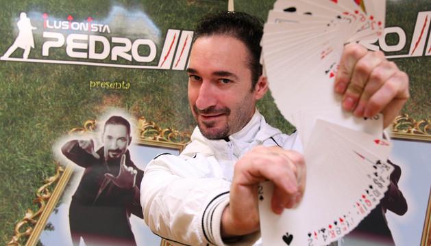 Actuará el ilusionista Pedro III
