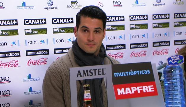 Andrés Fernández, este jueves