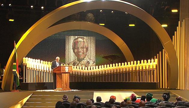 Funeral de Estado por Nelson Mandela