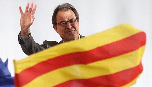 Artur Mas llega a un mítin de su partido el pasado mes de noviembre en Barcelona