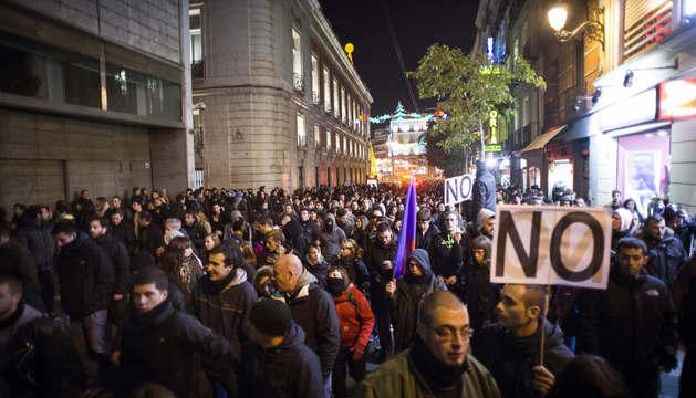 Protesta contra la Ley de Seguridad Ciudadana en Madrid el sábado