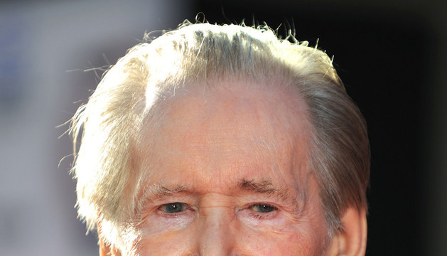 El actor irlandés Peter O' Toole en abril de 2011
