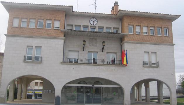Fachada del Ayuntamiento de Orkoein