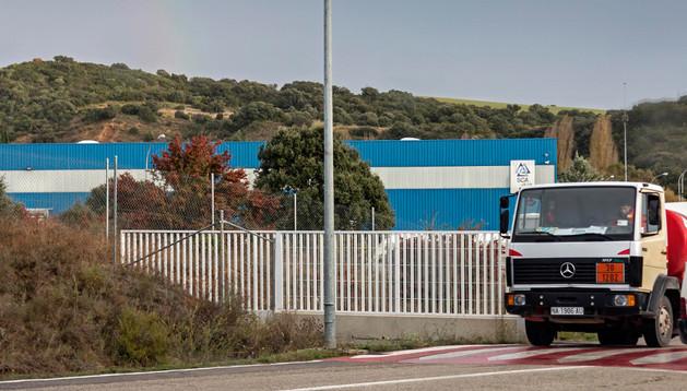 Una imagen de la fábrica de SCA en Allo