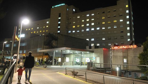 Hospital donde fallecieron.