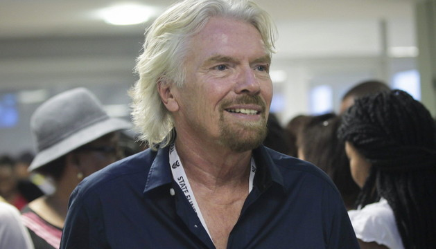 El fundador de Virgin Group Richard Branson