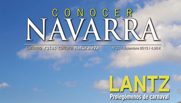 Imagen de la portada del nuevo número de Conocer Navarra.
