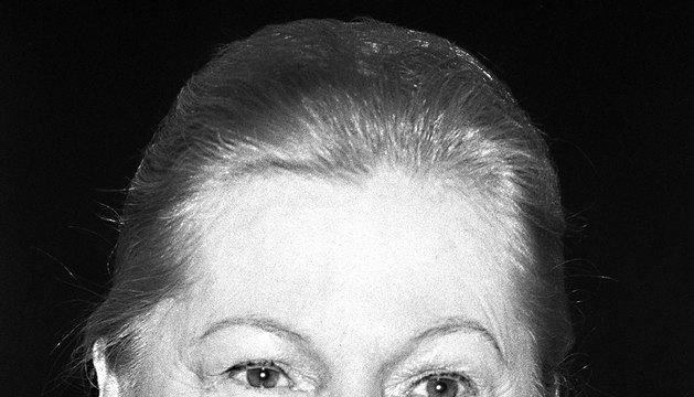 La actriz Joan Fontaine, en una imagen de 1983