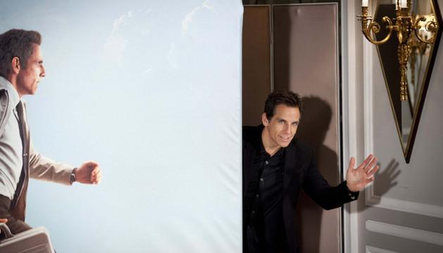 Ben Stiller en la presentación de la película 'La vida secreta de Walter Mitty'