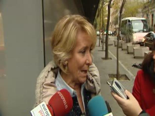 Aguirre declara como testigo por el caso Gürtel