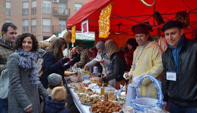 La degustación de productos marroquíes fue una de las más concurridas de la jornada.