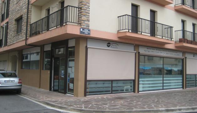 Sede de la Mancomunidad de Servicios Generales de Malerreka, en Santesteban.