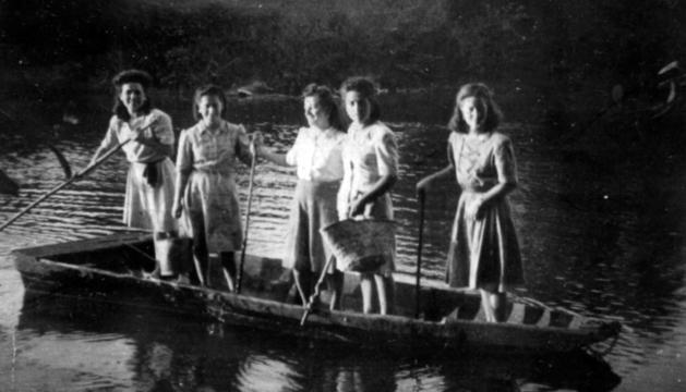 Una imagen que ilustra el relato del contrabando en el Bidasoa.