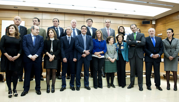Miembros del Consejo Interterritorial del Sistema Nacional de Salud, reunidos este miércoles en Madrid.