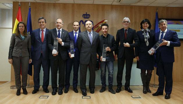 España, Purito y Movistar acaparan los premios de la UCI