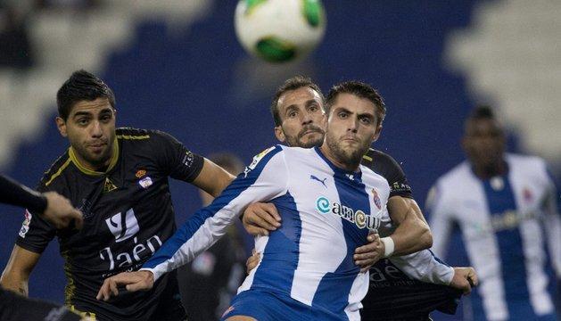 Un cómodo Espanyol sella su pasaporte ante el Jaén