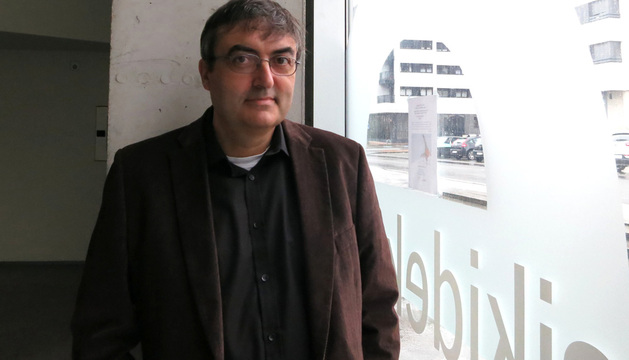 El realizador vasco  Karlos Alastruey