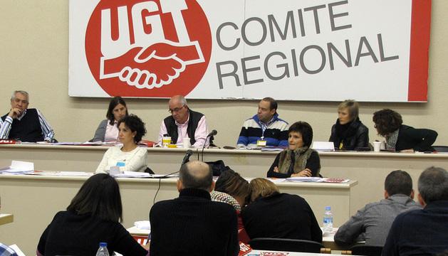 Imagen del comité regional de UGT.
