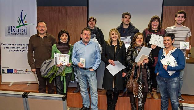 Participantes en el encuentro Empresa Rural Responsable.