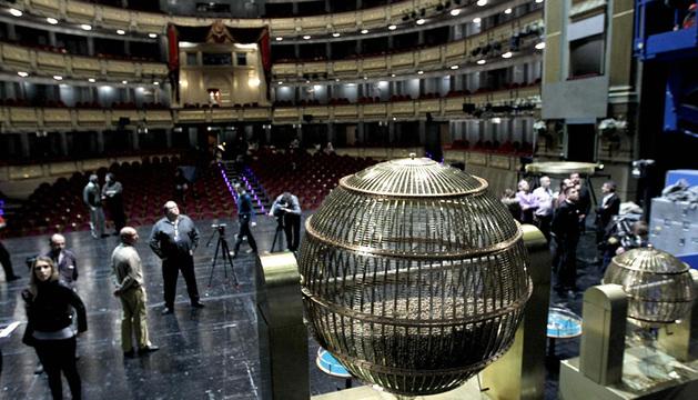 Los bombos, en el Teatro Real.