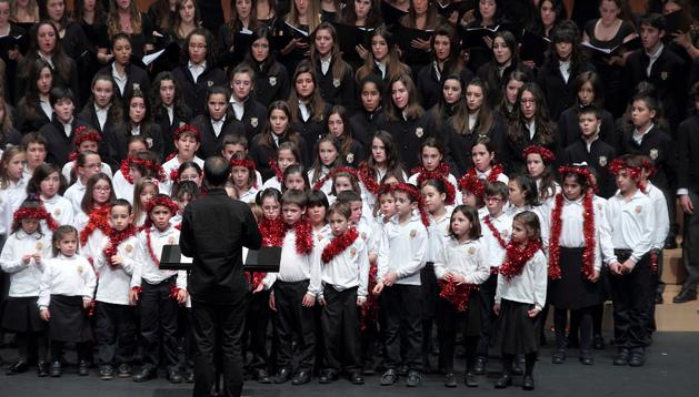 Concierto del Coro Infantil del Orfeón Pamplonés.