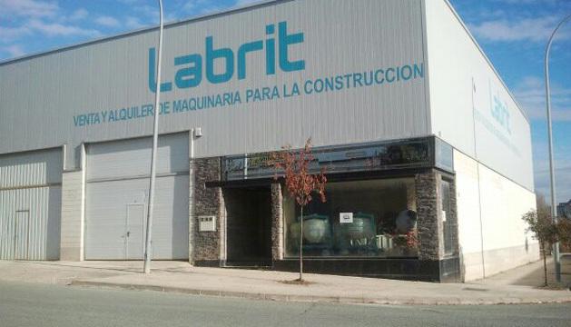 Exterior de la empresa Bobinados Labrit.