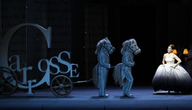 Representación de la ópera