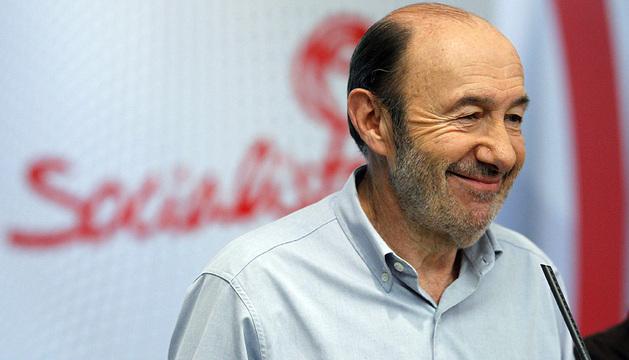 Alfredo Pérez Rubalcaba.